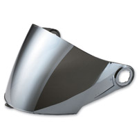 LS2 Chrome Outer Visor for OF569