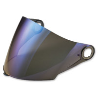 LS2 Blue Mirror Outer Visor for OF569