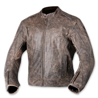AGV Sport Element Brown Leather Jacket