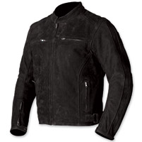 AGV Sport Legacy Black Leather Jacket