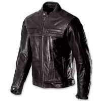 AGV Sport Tracer Black Leather Jacket