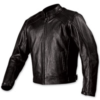 AGV Sport Classic Black Leather Jacke