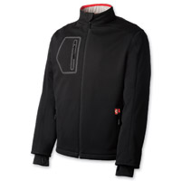 Gerbing's Heated Clothing Men's Coreheat7 Black/Red Softshell Jacket