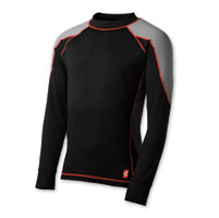 Gerbing Heated Clothing Coreheat1 Black and Gray Base Layer