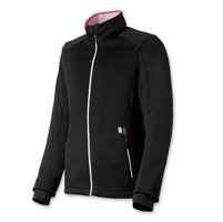 Gerbing's Heated Clothing Women's Coreheat7 Black/Pink Softshell Jacket
