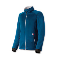 Gerbing's Heated Clothing Women's Coreheat7 Blue/Silver Softshell Jacket
