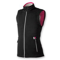 Gerbing's Heated Clothing Women's Coreheat7 Black/Pink Softshell Vest