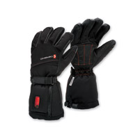 Gerbing's Heated Clothing Women's S3 Coreheat7 Black/Red Gloves