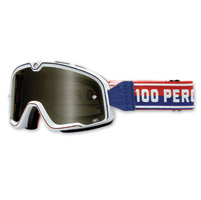 100% Barstow White Classic Goggles