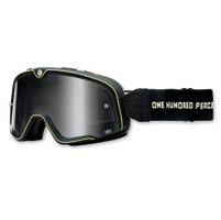 100% Barstow Black Classic Goggles