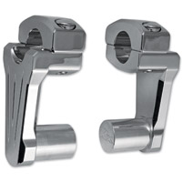 Rox Speed FX 3″ Chrome Pivoting Handlebar Risers