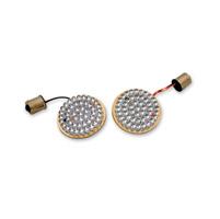 Custom Dynamics Amber LED Cluster Bullet/Deuce-Style Turn Signal Inserts