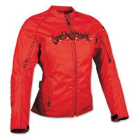 Speed and Strength To the Nines Textile Red Jacket