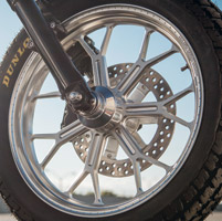 Roland Sands Design Del Mar Machine Ops Front Wheel, 18