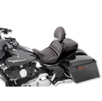 Saddlemen Explorer Seat With Driver Backrest, Low Profile