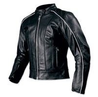 AGV Sport Ladies Lotus Black Leather Jacket