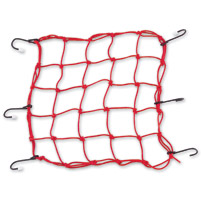 BikeMaster Red Stretch Net