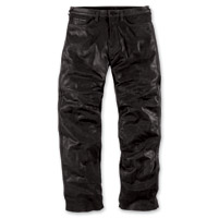 ICON Men's 1000 Roughshod Pursuit Black Leather Pants