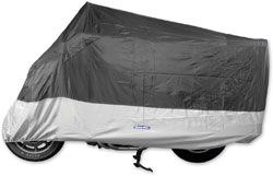 CoverMax Lrg Motorcycle Cover and BikeMaster Charger with Special Code