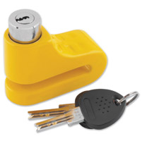 Bully 5.5mm Yellow Disc Lock