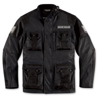 ICON Men's 1000 Beltway Black Jacket