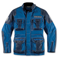 ICON Men's 1000 Beltway Blue Jacket