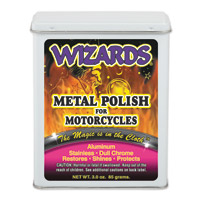 Wizards Metal Polish Packet for Motorcycles