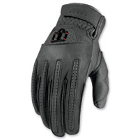 ICON Men's 1000 Rimfire Gray Gloves