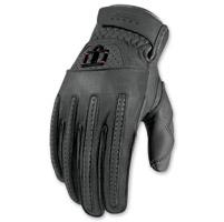 ICON Men's 1000 Rimfire Gray Gloves