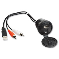 Jensen USB Interface and 1/8″ Auxiliary Input Jack