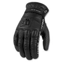 ICON Men's 1000 Turnbuckle Black Gloves