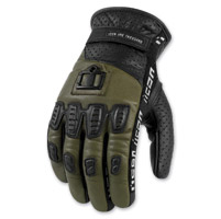 ICON Men's 1000 Turnbuckle Green Gloves