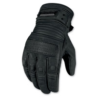 ICON Men's 1000 Beltway Black Gloves
