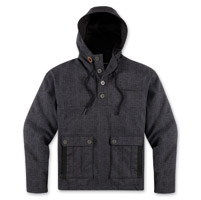 ICON Men's 1000 Stravenger Shadow Gray Hoody