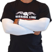 Missing Link Solid White ArmPro Sleeves