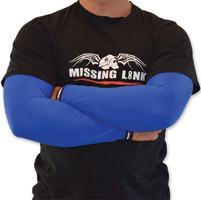 Missing Link Solid Blue ArmPro Sleeves