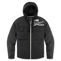 ICON Men's 1000 ODL Black Jacket