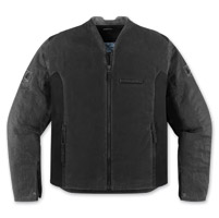 ICON Men's 1000 Oildale Black Jacket