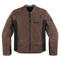 ICON Men's 1000 Oildale Brown Jacket