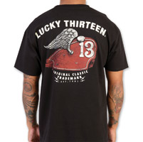 Lucky-13 Gas Tank Men's Black T-Shirt