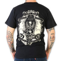 Lucky-13 Ride in Peace Men's Short Sleeve Black T-Shirt
