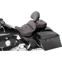 Saddlemen Road Sofa Deluxe Touring Seat with Driver Backrest