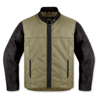 ICON Men's 1000 Vigilante Dark Earth Jacket