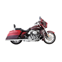 Vance & Hines Monster Rounds Catalytic Slip-Ons Chrome
