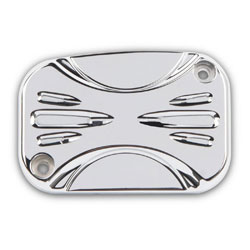 Arlen Ness Chrome Deep Cut Hydraulic Clutch Master Cylinder Cover