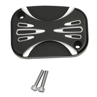 Arlen Ness Deep Cut Black Hydraulic Clutch Master Cylinder Cover