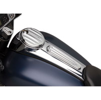 Arlen Ness Deep Cut Chrome Dash Insert