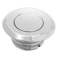 Arlen Ness Pop-Up Style Smooth Vented Gas Cap