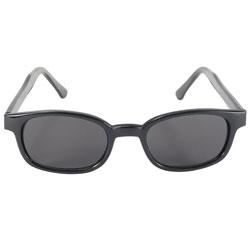 Original KD's Sunglasses-Black Frame with Flames and Smoke Lens