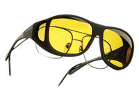 Cocoons Black Sunglasses w/ Yellow Lens